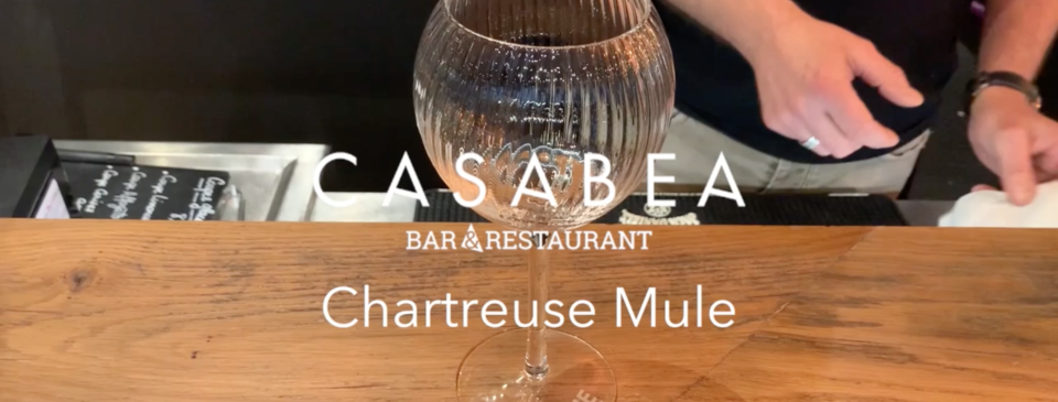 Titre du Chartreuse Mule, verre vide