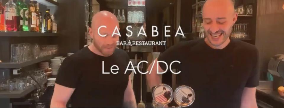 capture d'écran vidéo cocktail lyon