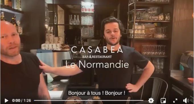 recette cocktail normandie casabea capture d'écran